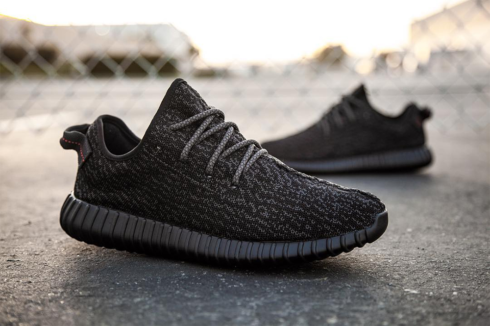 Yeezy 350 Boost Black Hype Sneaker Bar Detroit