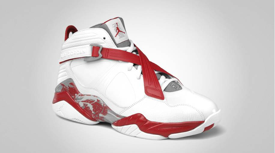 air jordan 8 red white