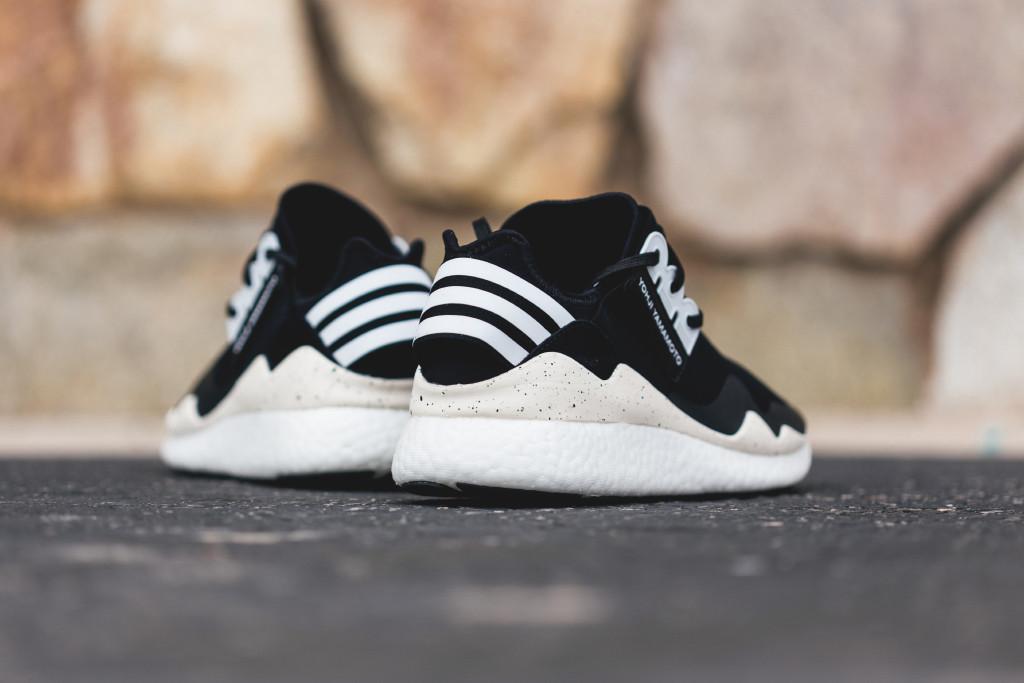 f8aca91b5df4 Yohji Yamamoto borrows an adidas performance platform for this shoe.