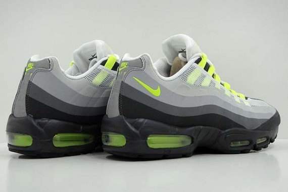 brand new 4a6dc 25f53 Nike Air Max 95 No-Sew - Neon - New Images | Sole Collector