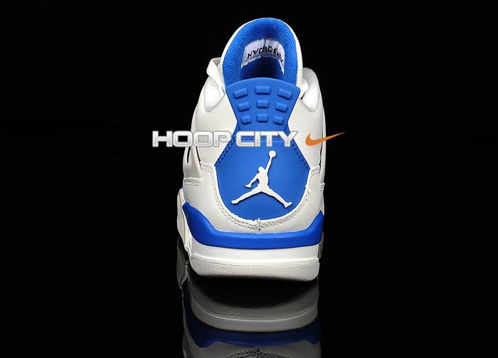separation shoes 3a8c8 a2e6b Air Jordan IV 4 Retro Military Blue 308497-105 (3)