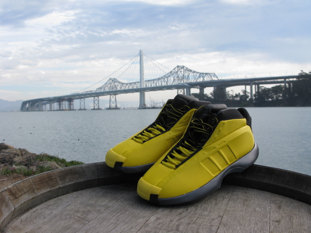 adidas Crazy 1 Sunshine at the Bay Bridge