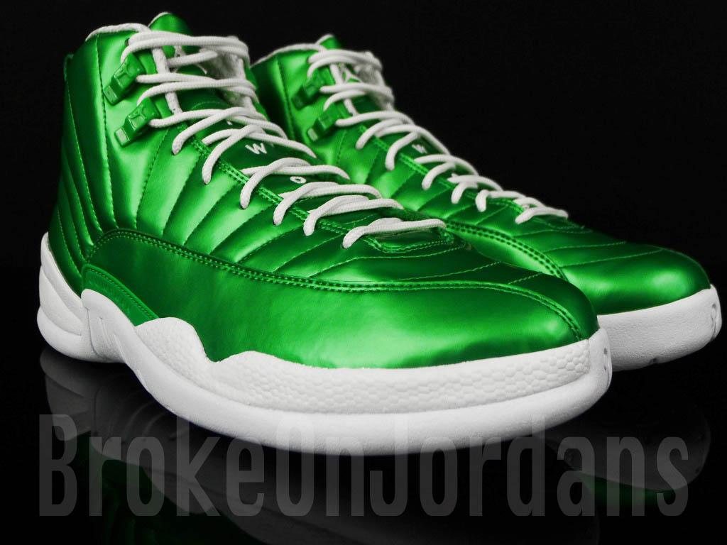 air jordan retro 12 all green