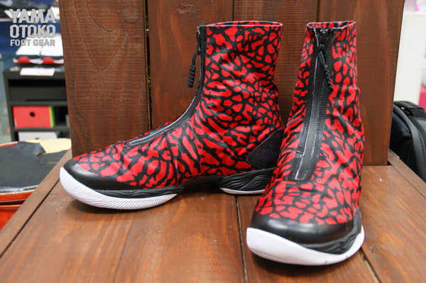 finest selection c4494 ad954 air jordan xx8 fire red elephant print