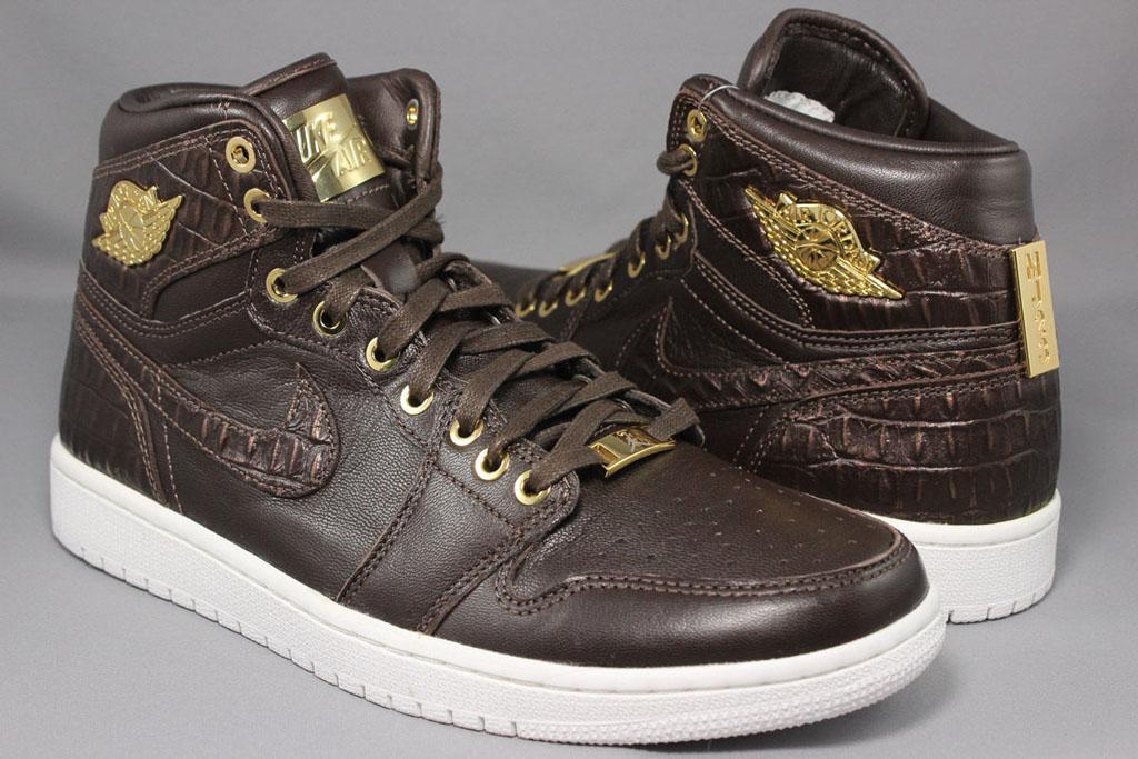 4a4e7673056 Air Jordan 1 Pinnacle Brown Croc 705075-205 (1)