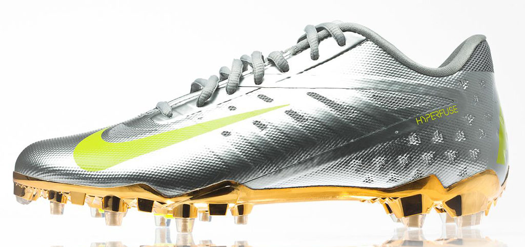 Nike Elite11 Vapor Talon Elite Cleats - Silver (1)