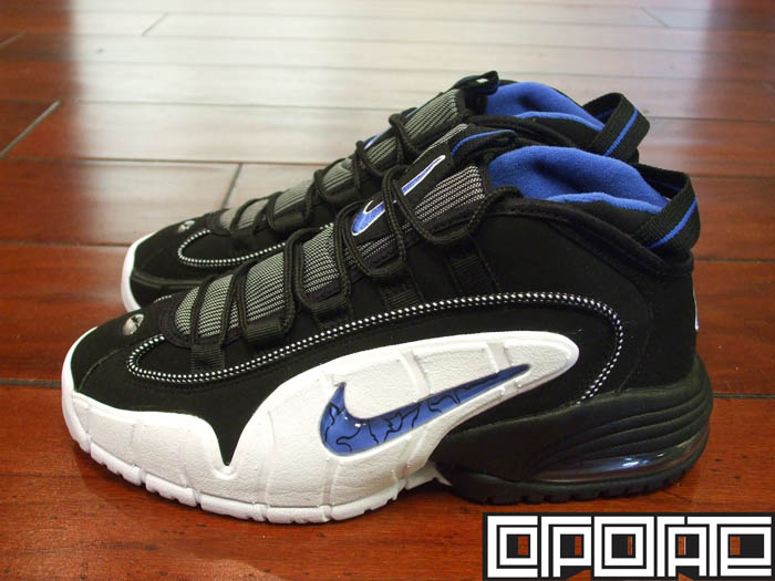 best sneakers af240 bdab2 Nike Air Max Penny I Orlando Black Varsity Royal White 311089-001
