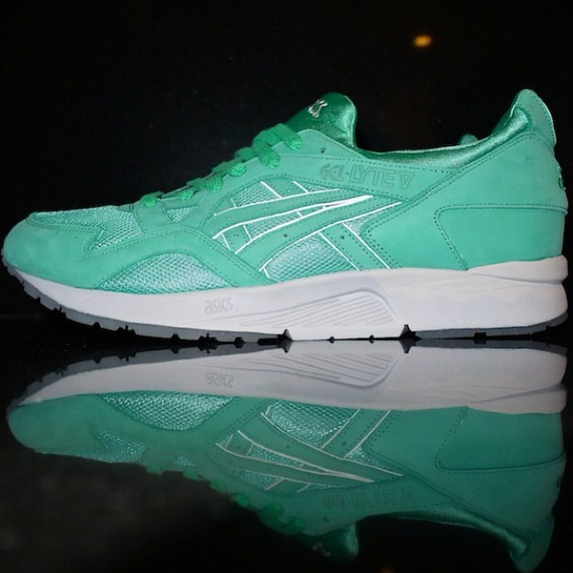DJ Clark Kent Picks Up Ronnie Fieg x ASICS GEL-Lyte V Mint