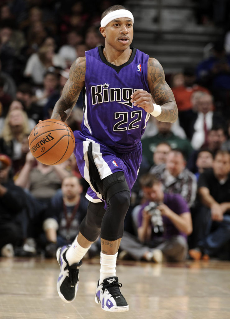 Isaiah Thomas wearing Reebok Kamikaze 2 Low PE