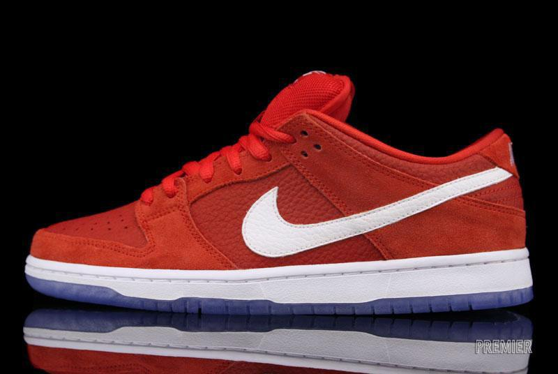 b9828448ef48 Nike SB Dunk Low Pro - Challenge Red