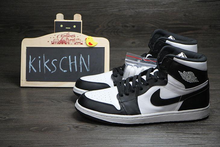 New Air Jordan 1 CDP 2014 OG High Retro BlackWhite Sneakers