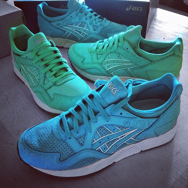 DJ Skee Picks Up Ronnie Fieg x ASICS GEL-Lyte V Mint & Cove