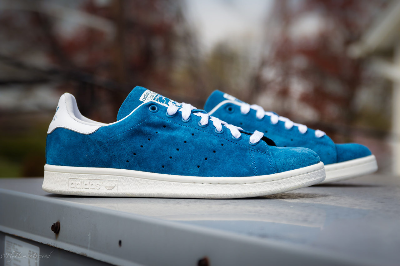 adidas Originals Stan Smith Suede - Blue