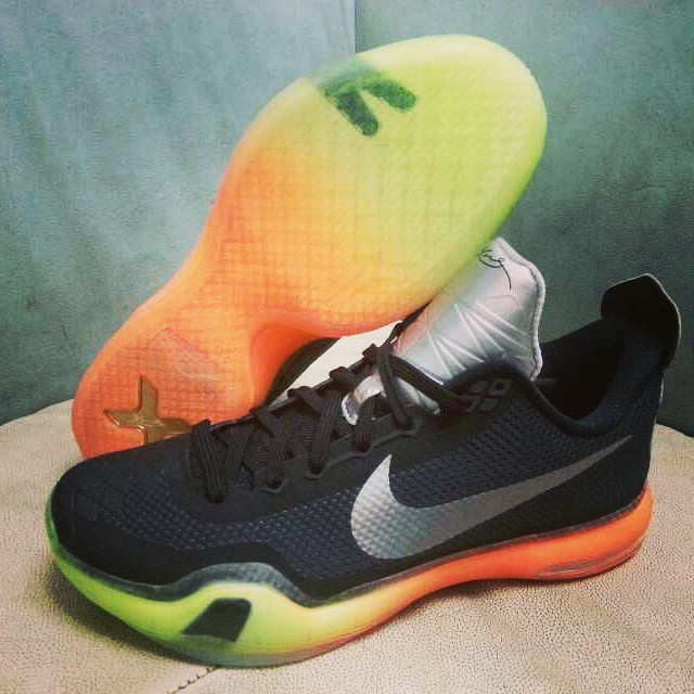 finest selection d979d ae44e low price nike kobe x 10 all star black silver orange volt 9 b718f f4b1d