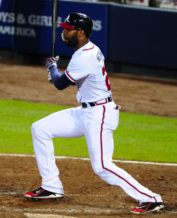 MLB Watch Best of 2013 Jason Heyward Nike Air Swingman MVP 2