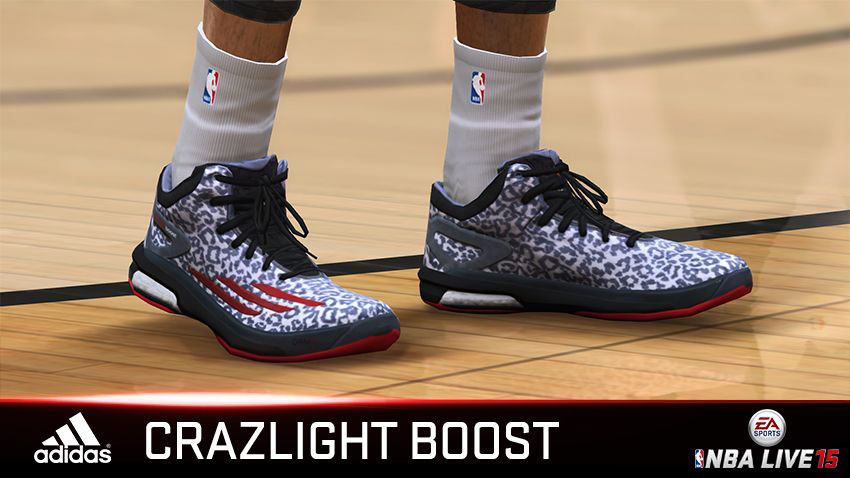 NBA Live 15 Sneakers: adidas Crazylight Boost Dame Lillard