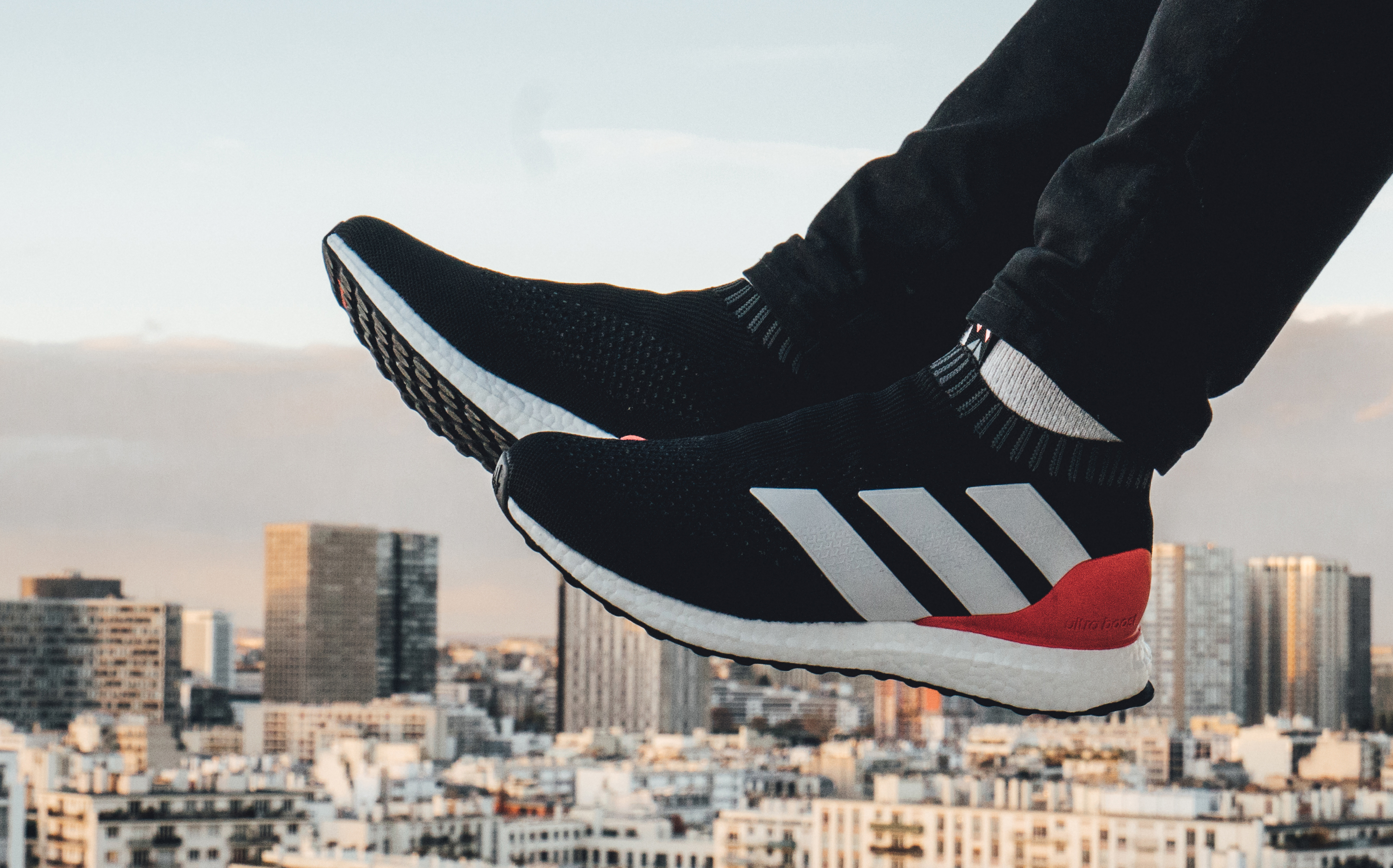 Adidas Ace 16 PureControl Red Limit On Feet