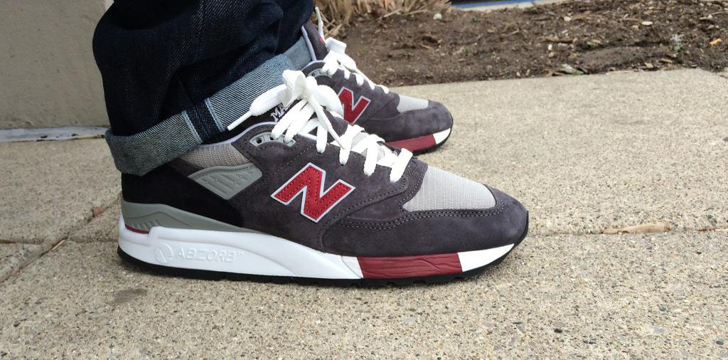 Fornastyy in the New Balance 998 Made in USA