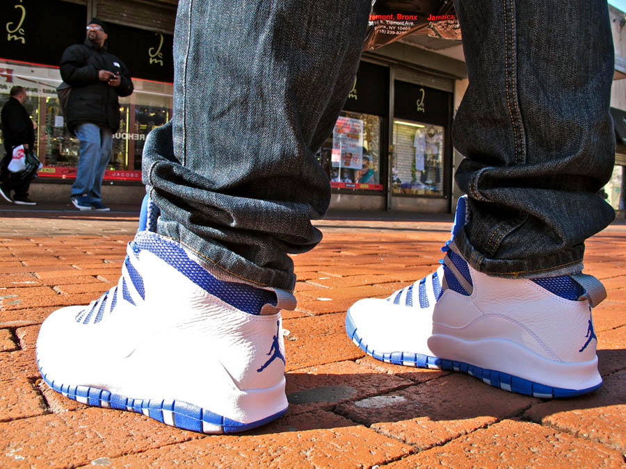 Air Jordan Retro 10 - White/Old Royal-Stealth | Sole Collector