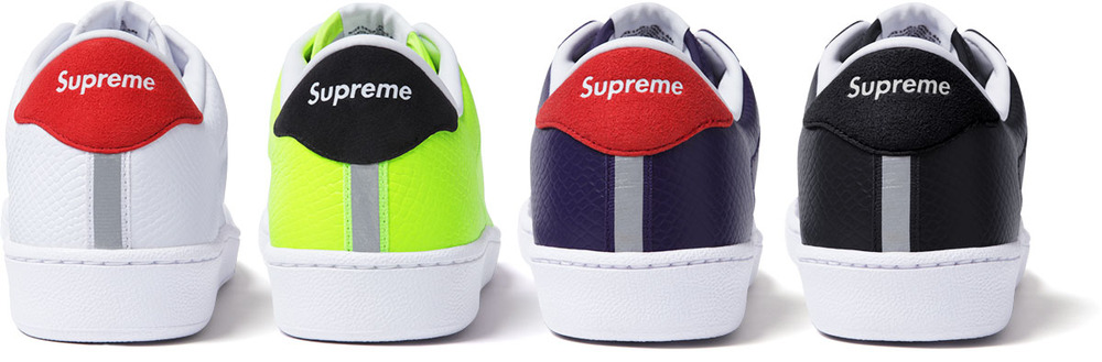 the best attitude 11cdf 7d7e0 Supreme officially unveiled its latest collaboration with Nike today,  presenting four special colorways of the Nike SB Tennis Classic.