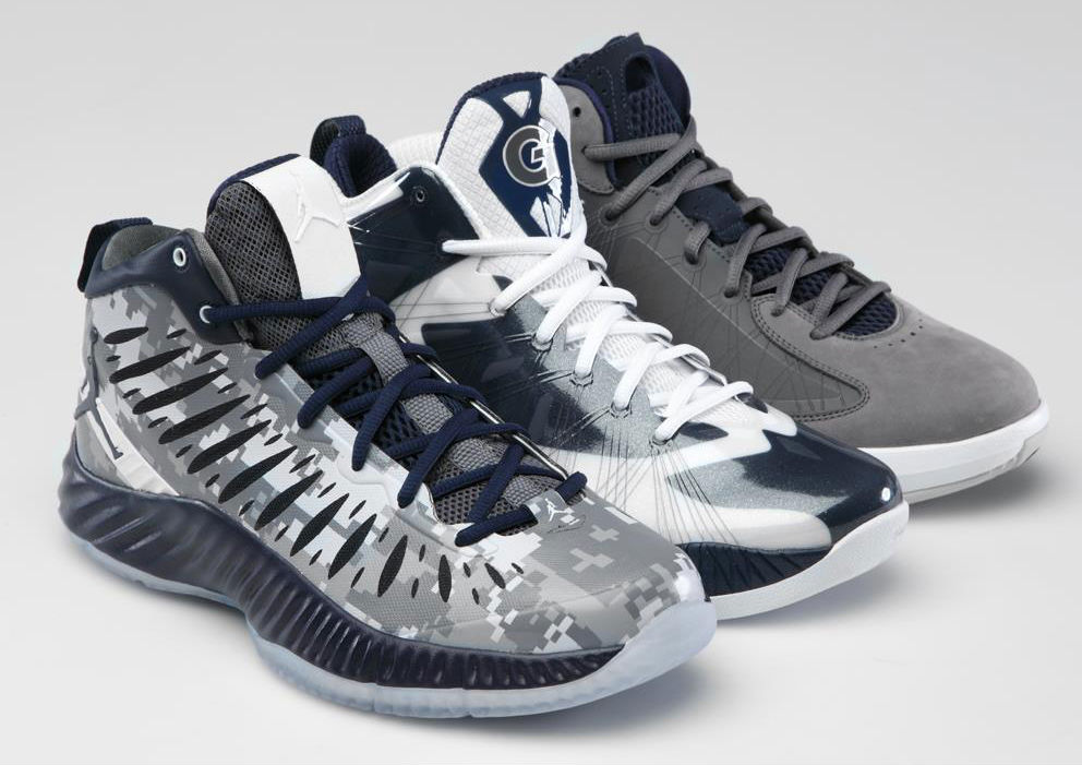 Georgetown Hoyas Jordan Brand Team Exclusives PEs