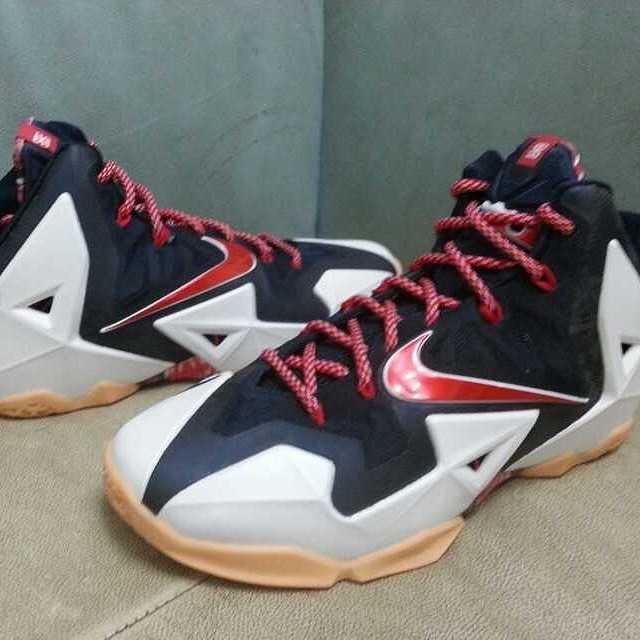 95ae7543df6ba Nike LeBron XI 11 Independence Day USA Release Date 616175-164 (1)