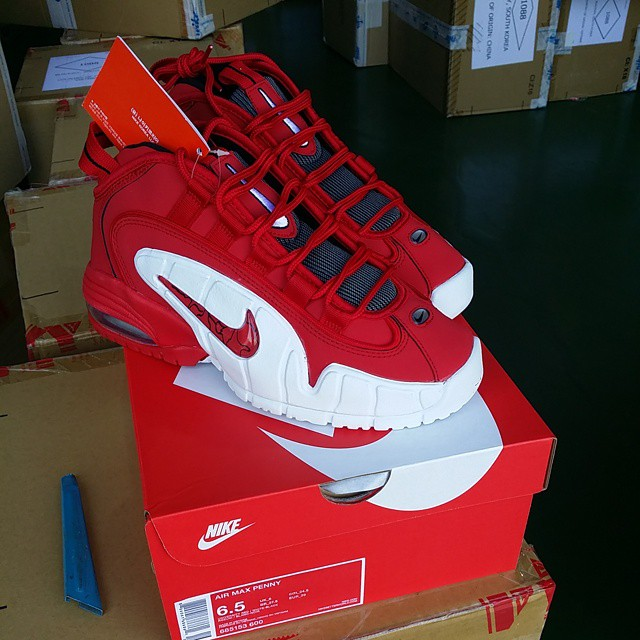 Nike Air Max Penny 1 Red/White 685153-600 (2)