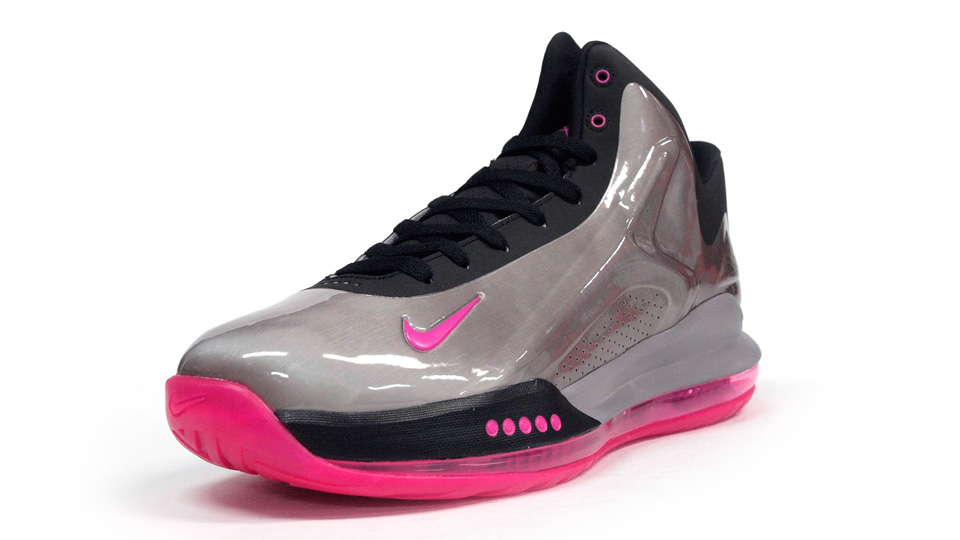 Nike Zoom Hyperflight Max in Metallic Pewter and Pink Foil