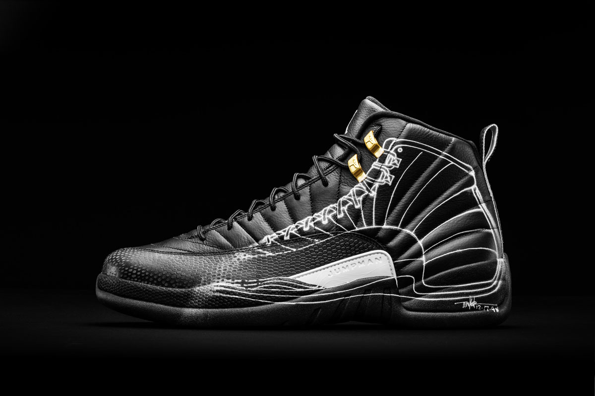 on sale 50d04 2b9e2 Air Jordan 12 Doernbecher Charity by Tinker Hatfield   Mark Smith (1)