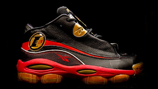 Reebok Answer 1 Black/Red-Gold