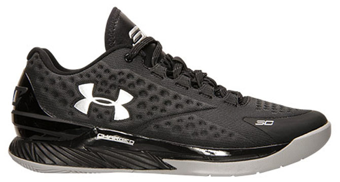 super popular 841d0 fb5ef Under Armour Curry One Low Black Silver (1)