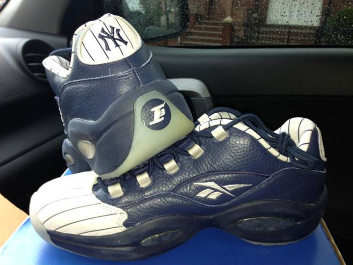 Reebok Question Low New York Yankees Away
