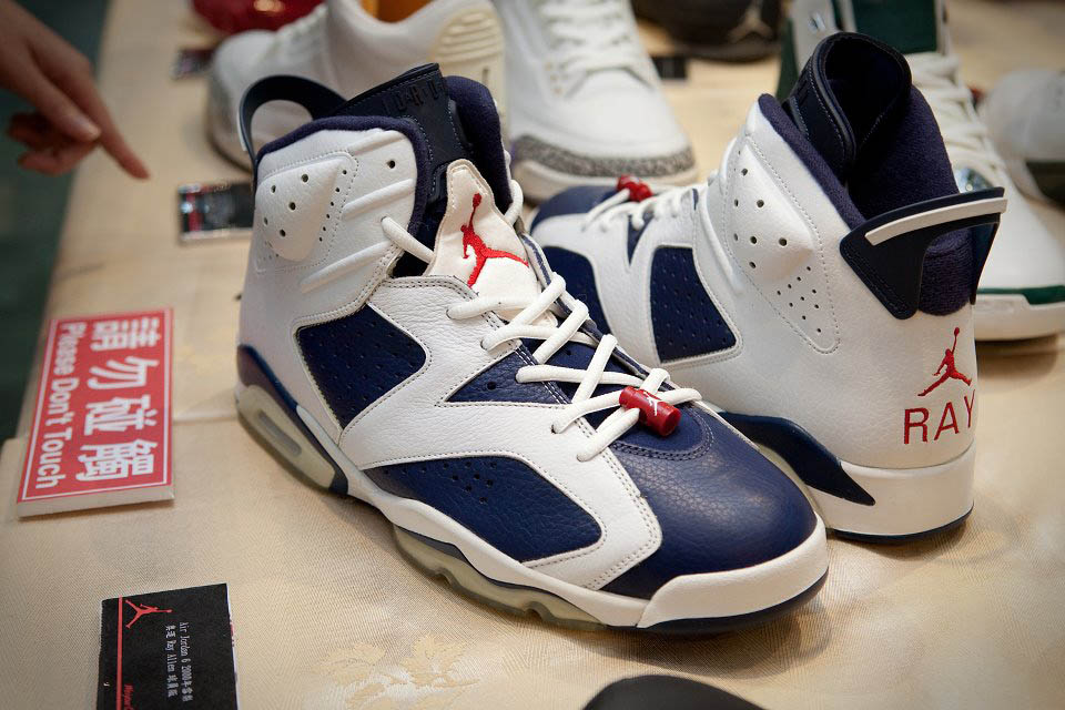 Air Jordan 6 VI Olympic Ray Allen Player Exclusive Shoes