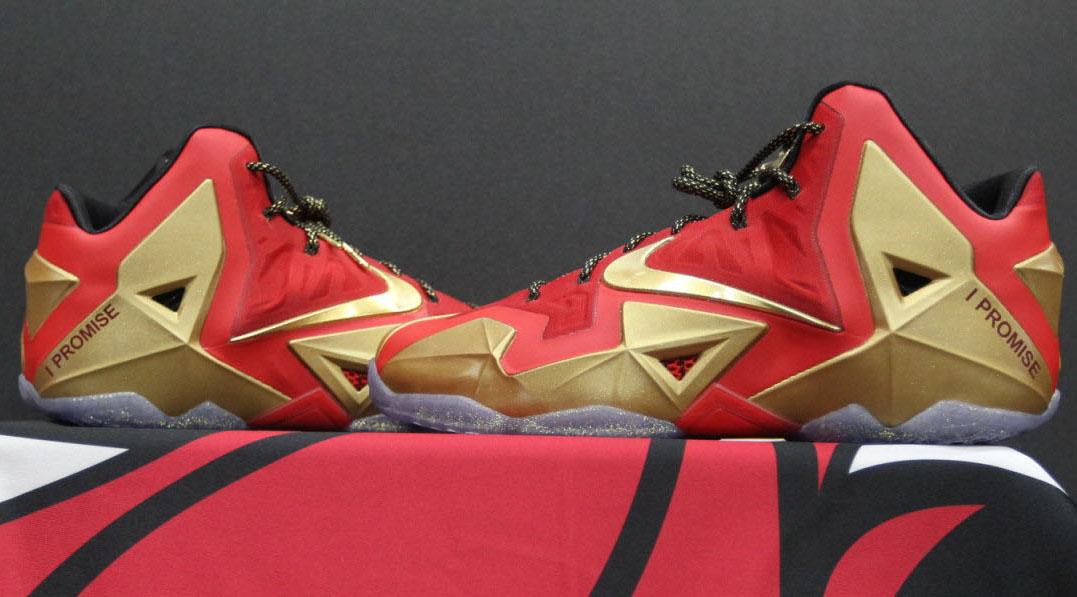 Nike LeBron 11 'Ring Night' PE | Sole