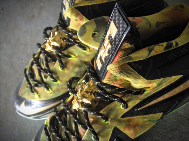 "Nike LeBron X PS Elite ""2-Time Champ Fusion"" by Mache Custom Kicks (4)"