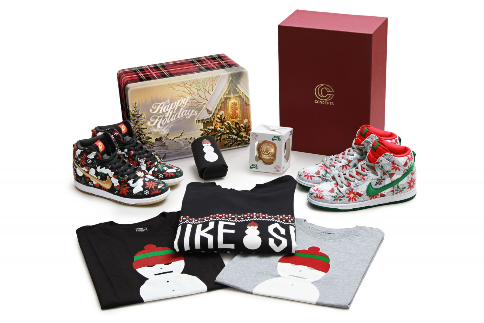 Concepts x Nike SB 'Ugly Christmas Sweater' Pack