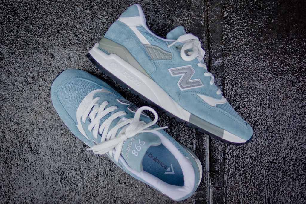 new balance 998 light blue