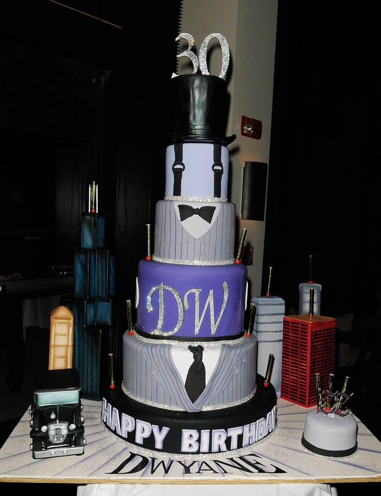 Dwyane Wade's 30th Birthday Cake