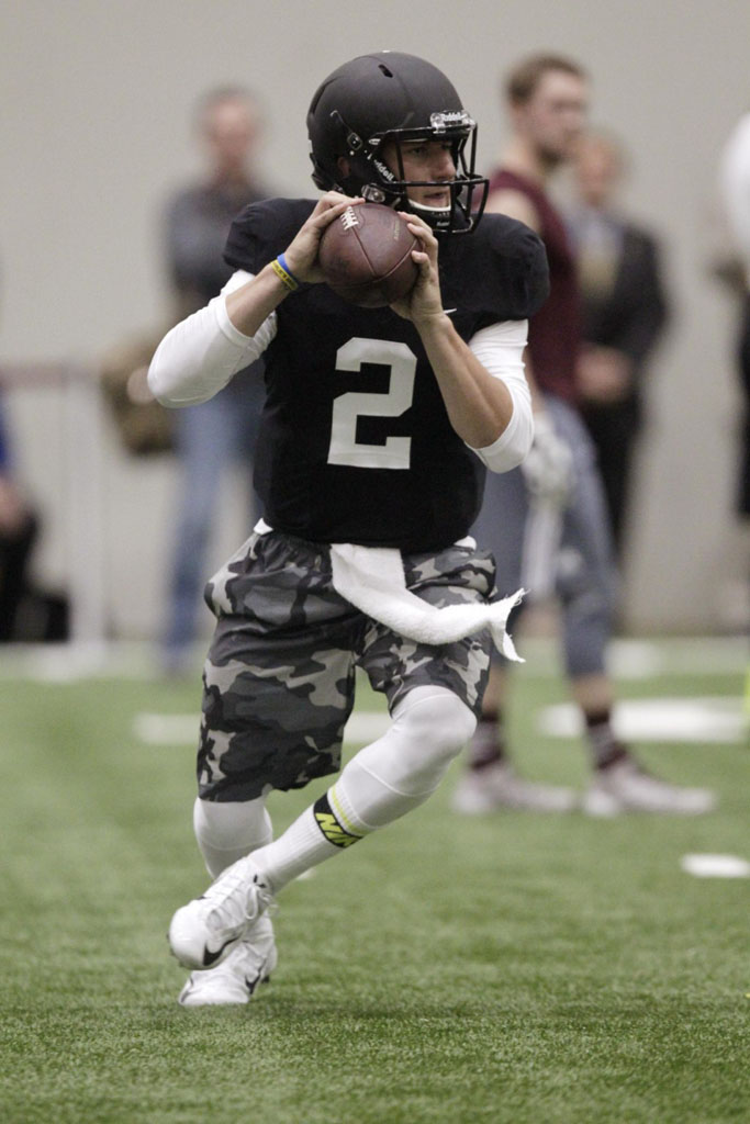 Johnny Football Wears Nike for NFL Pro Day (1)