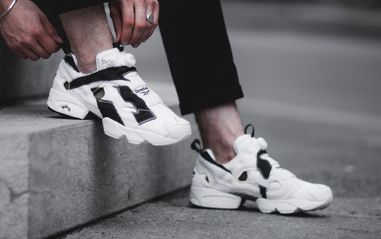 reebok insta pump shoes - tecniasteel.com