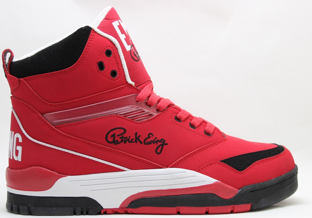 Ewing Athletics Ewing Center Hi Red/Black-White