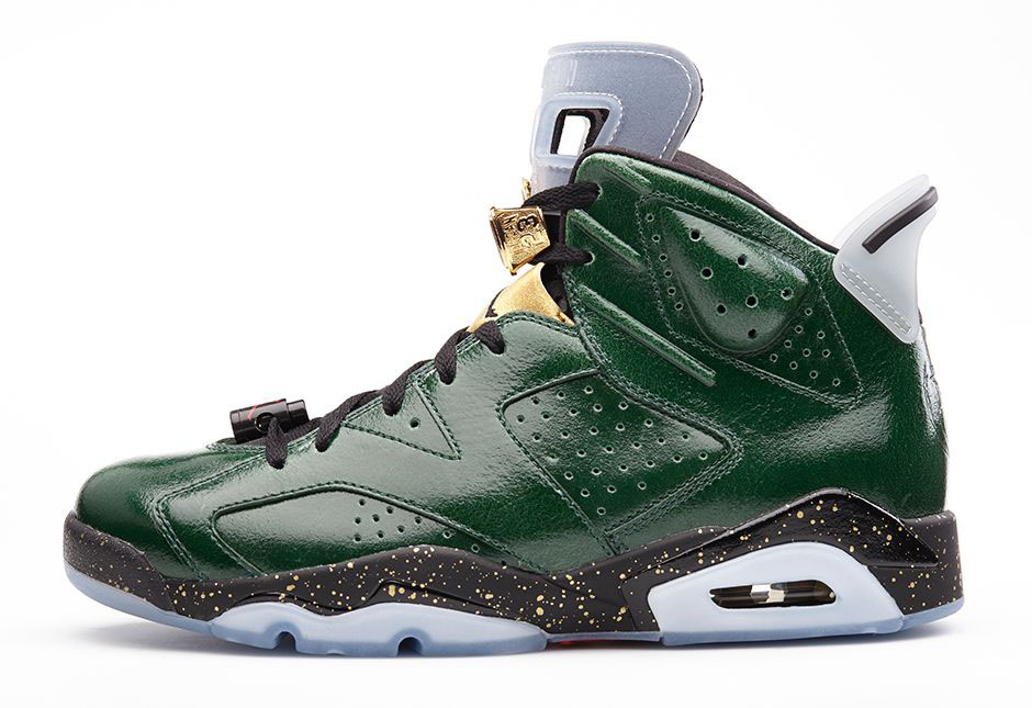 Air Jordan VI 6 Celebration Champagne 384664-350  (2)