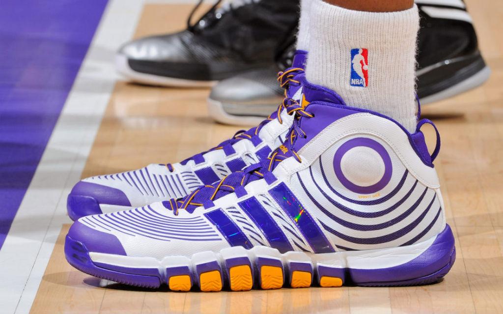 premium selection 41df8 98a6b adidas D Howard 4 Lakers Home Q33297 (7)