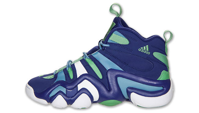 adidas Crazy 8  Purple Green Blue (1)