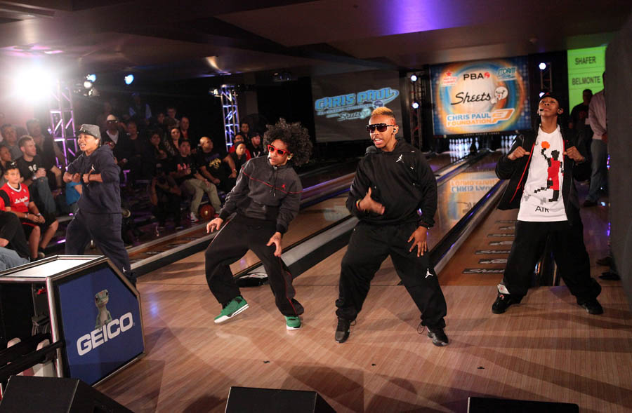 Chris Paul PBA Celebrity Bowling Tournament 2012 - Mindless Behavior
