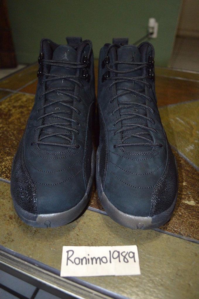 7fd21157fcf3 Drake x Air Jordan XII 12 OVO Black (8)