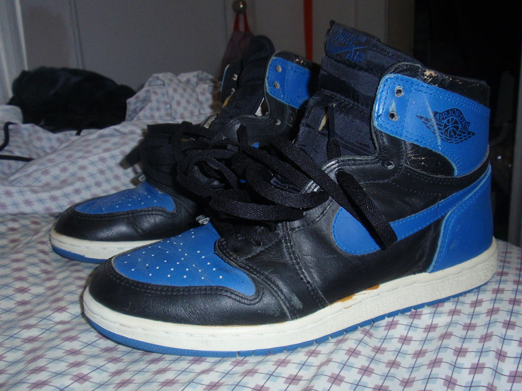 Pickups of the Week // Air Jordan I Black/Royal by geowazheree