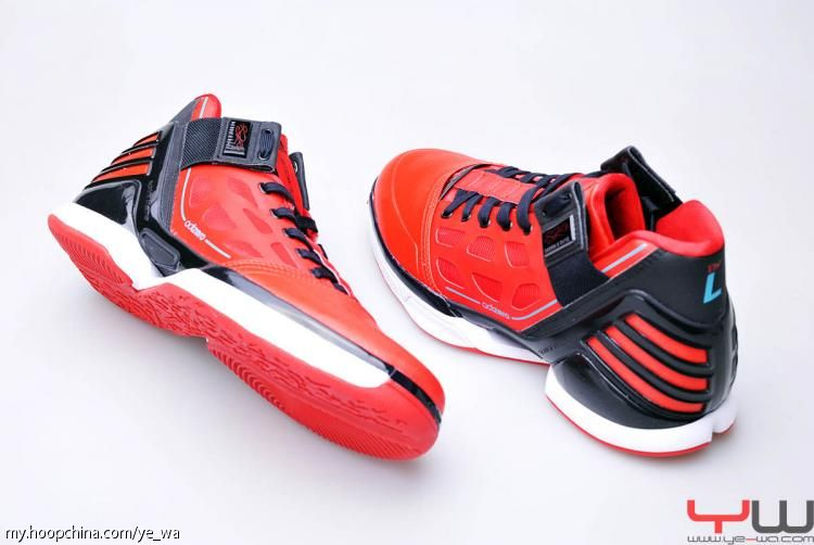new style 71171 7bd41 adidas adiZero Rose 2.0 University Red Black Intense Blue G47565