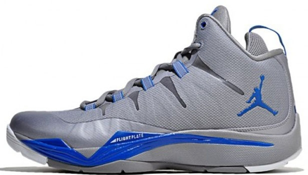 Jordan Super.Fly 2 Cement Grey/University Blue-Game Royal-White