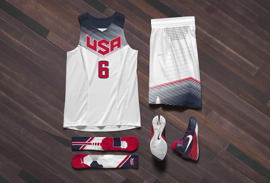 Nike Basketball Unveils 2014 USA Basketball Uniforms ...